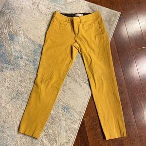 Banana Republic Mustard Yellow Dress Pants